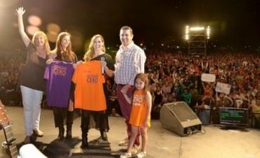 Soledad cantó ante una multitud en Cochicó