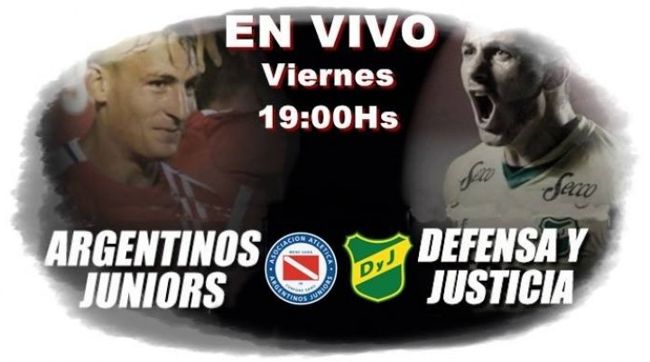 Argentinos Juniors Vs Defensa y Justicia Superliga 2017-18 Viernes 19 Hs en VIVO por La Folk Argentina y Argen TV