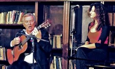 Florencia y Galo García, invitados de la Filiberto en el teatro del Globo