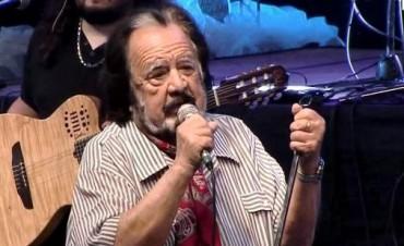Horacio Guarany actuará en el tucumano teatro Mercedes Sosa