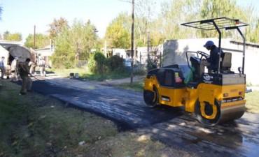 Continúa los trabajos de bacheo en todo Tigre