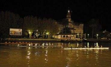 Se disputó una nueva regata nocturna en Tigre