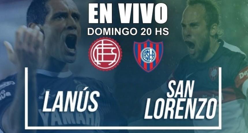 Lanús vs San Lorenzo, Superliga Argentina 2018 domingo 20 Hs en VIVO por Argen TV y La Folk Argentina