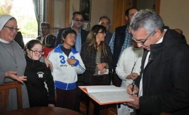 Tigre renovó su apoyo a la obra del Hogar Santa Rosa