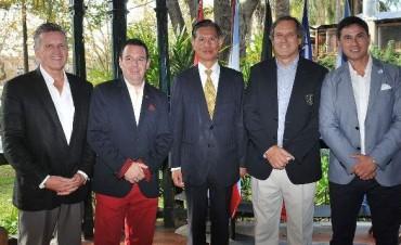 Tigre y Taiwán juntos por más inclusión deportiva y cultural