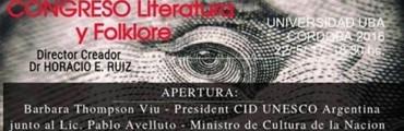 """La Folk Argentina y NEXO 104.9 Fm  trasmitirá en VIVO el 2° Encuentro de """"Folklore y literatura"""""""