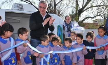 El nuevo móvil odontológico de Tigre recorre los jardines de infantes