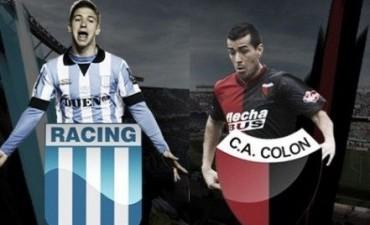 Racing vs Colón en VIVO Fútbol Argentino 2016-2017 Fecha 29 por NEXO 104.9 Fm y La Folk Argentina
