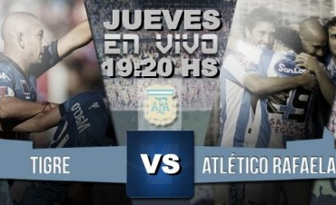 Ante Rafaela, Tigre necesita puntos para evitar el peligro 19.20 en VIVO por Nexo 104.9 Fm y La Folk Argentina