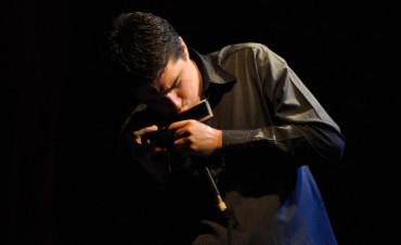 El armonicista Franco Luciani presentará su disco