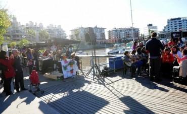 El Puerto de Frutos junto a las orquestas en Nordelta