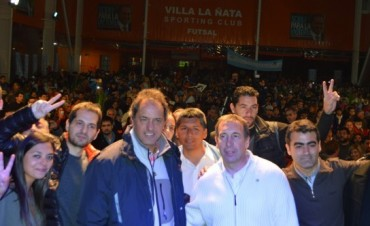 Con la presencia de Scioli, se lanzó la lista del FPV Tigre encabezada por Szpolski