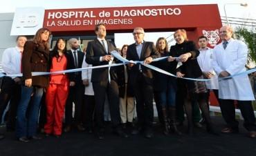 Tigre inauguró el nuevo Hospital de Diagnóstico por Imagen