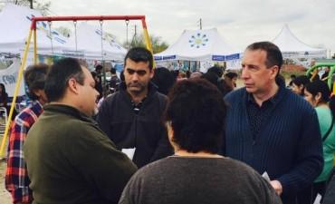 Szpolski y Ugo en operativo interministerial en Rincón de Milberg