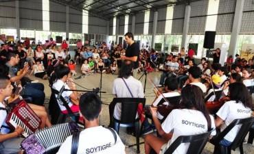 Más chicos se suman a la Orquesta Escuela del Delta