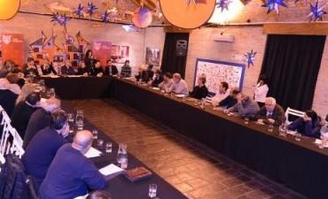 Zamora encabezó nueva reunión por el saneamiento del Río Reconquista