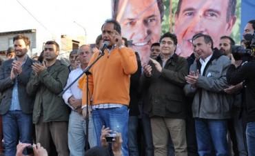 Scioli Zannini y Szpolski festejaron los 70 años de peronismo en Tigre