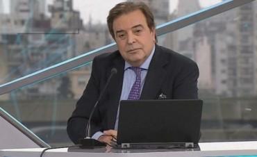 Falleció el reconocido periodista y conductor de TN Edgardo Antoñana