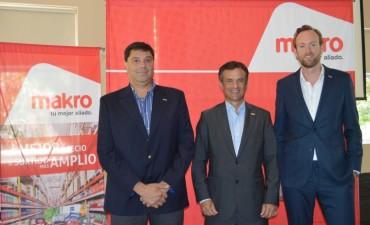 Mayorista Makro anunció la próxima apertura de su sucursal en Pilar