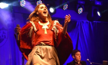 Soledad cantó ante más de 10 mil personas en la Fiesta Provincial del Parque Luro en La Pampa