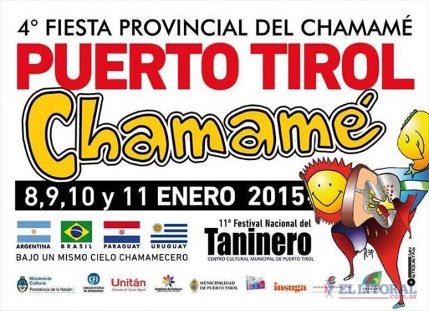 El Festival Nacional del Taninero será en su 11 edición el festival de la Integración