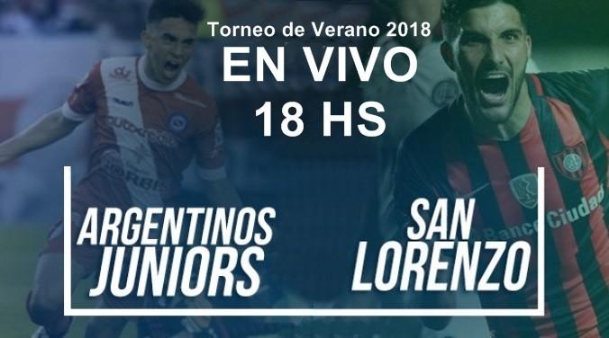 San Lorenzo vs Arg Juniors: por el Torneo de Verano 2018  en VIVO por ArgenTV, La Folk Argentina y Nexo 104.9 Mhz
