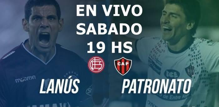 Lanús vs. Patronato: se enfrentan por Superliga argentina 19 Hs en VIVO por Argen TV y La Folk Argentina