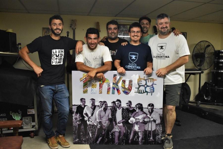 """Por Mirta Ramirez: Ramiro Pereyra del Grupo """"Tinku"""" en algún momento soñamos lo que nos está pasando"""