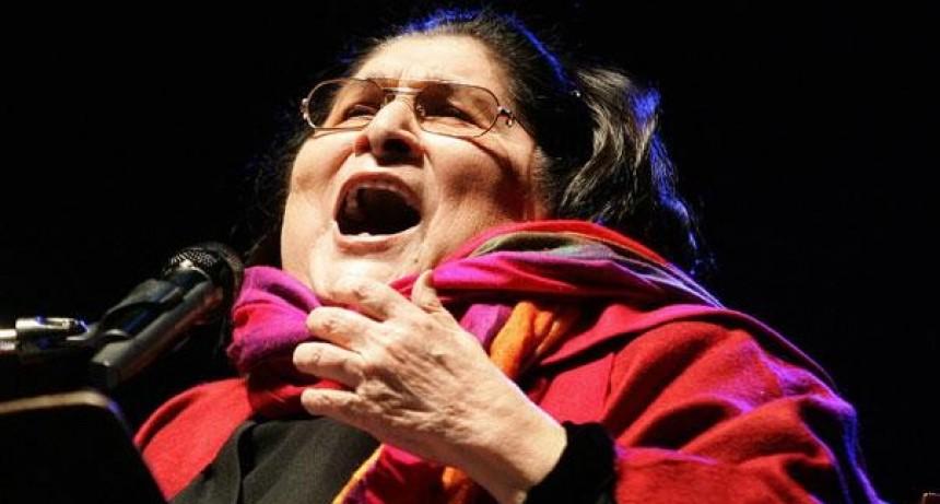 Araceli Matus y Lito Vitale rendirán tributo a Mercedes Sosa en el Teatro Colón