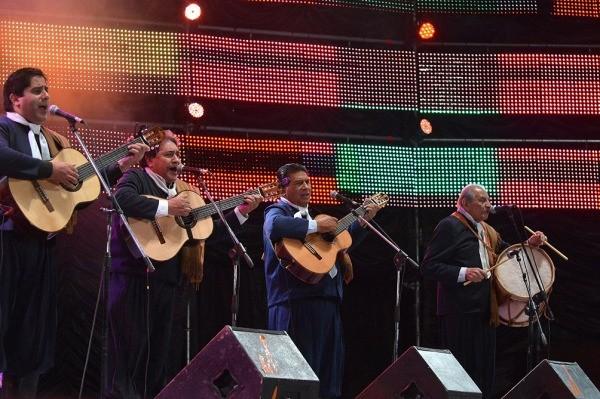 Los Manseros Santiagueños, en el emotivo cierre en Cosquín