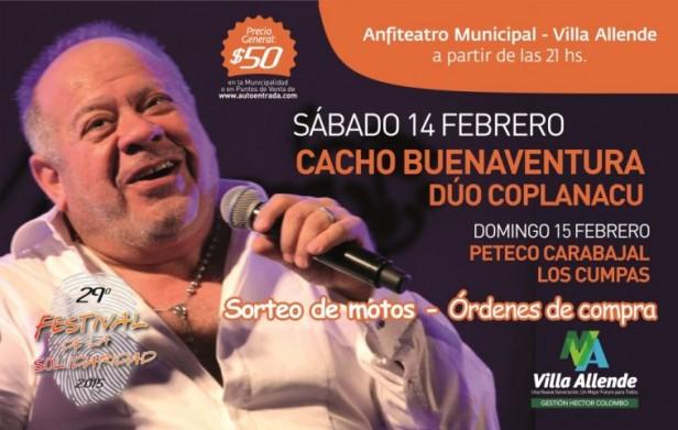 Festival de la Solidaridad y otros encuentros artísticos