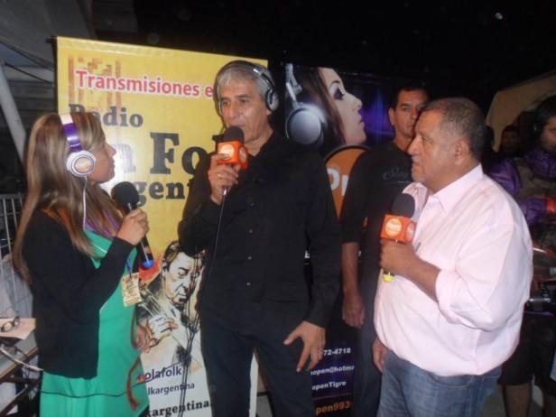 El Chaqueño y Peteco en la segunda noche de Baradero y lo vivistes por la Folk Argentina y Open 99.3