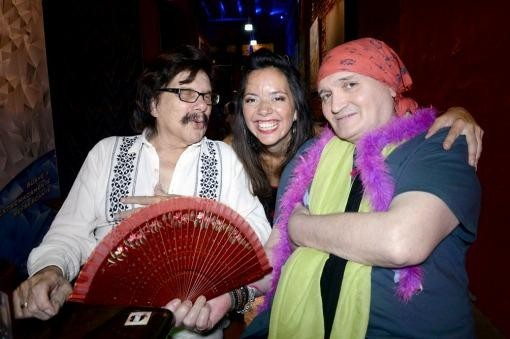 Fernando Noy y Ramón Ayala acompañaron a Cecilia Zabala en