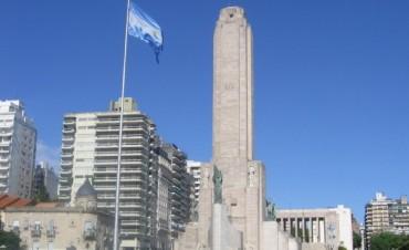 Encuentro de música folclórica en el Monumento Nacional a la Bandera
