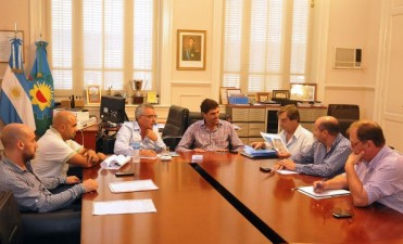 Zamora se reunió con delegados municipales para proyectar las obras del 2015