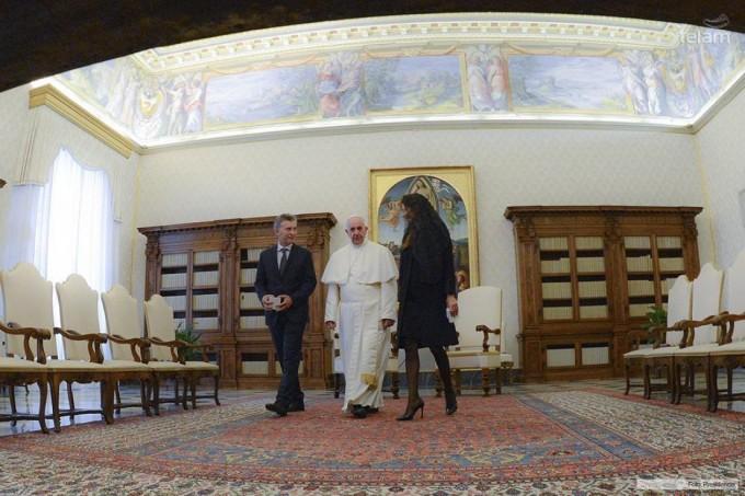 Macri destacó coincidencias y el apoyo del Papa en la lucha contra la corrupción y la droga