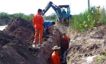 Nuevas obras cloacales para los vecinos de Troncos del Talar