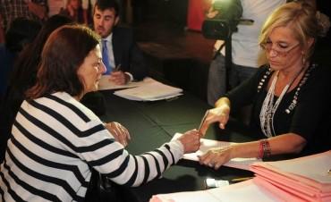 Cada vez más vecinos escrituran su vivienda en Tigre