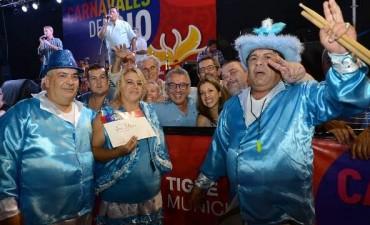 """Los """"Carnavales del Río 2016"""" en Tigre tuvieron un marco masivo de público"""