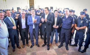 Entregaron en Tigre 600 nuevos chalecos antibalas con chip inteligente