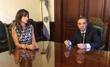 Malena Galmarini y Pichetto, juntos por la igualdad de género