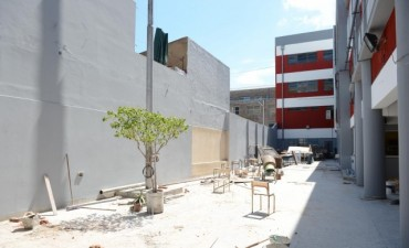 Realizan la remodelación integral de la Escuela Técnica 5 de Tigre