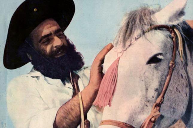 """Se cumplen 37 años de la trágica muerte del barbado cantor de estampa gaucha """"El Turco"""" Jorge Cafrune"""