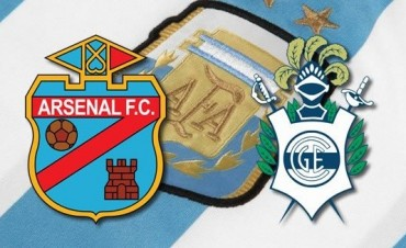 Arsenal vs Gimnasia: EN VIVO fecha 14 de la Superliga por La Folk Argentina y Argen TV