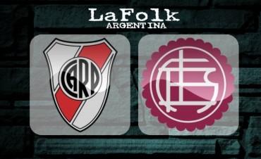 EN VIVO: Lanús vs River Plate, fútbol argentino domingo 21 Hs por Argen TV y La Folk Argentina