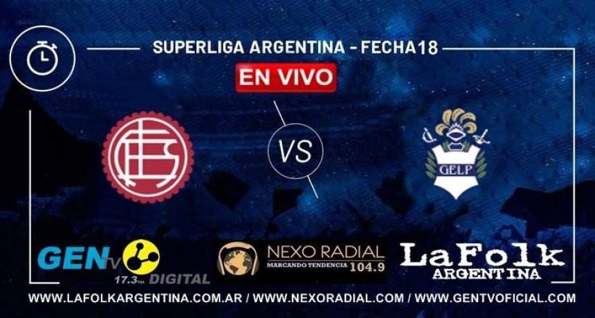 Lanús recibe al Lobo platense desde las 21, EN VIVO por LA FOLK, NEXO Y GEN TV: Hoy chocan por fecha 18 de Superliga argentina