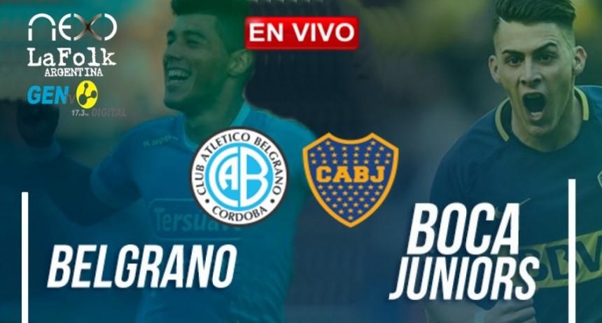 Belgrano de Córdoba vs. Boca Juniors - EN VIVO por LA FOLK, NEXO Y GEN TV: Fecha 18 de Superliga argentina