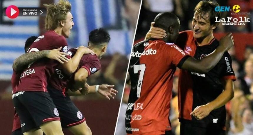 Lanús y Newell's se medirán en un duelo clave por la clasificación a la Copa Libertadores: EN VIVO por La Folk Argentina