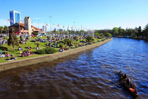 Sábado con buen tiempo y una temperatura máxima de 28 grados en Tigre y alrededores