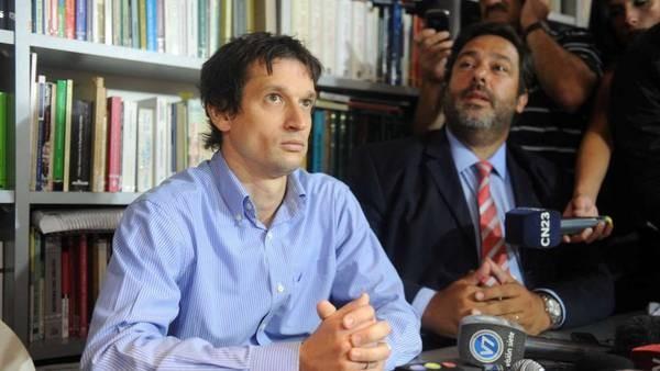 Lagomarsino declaró que depositaba a Nisman la mitad de su sueldo